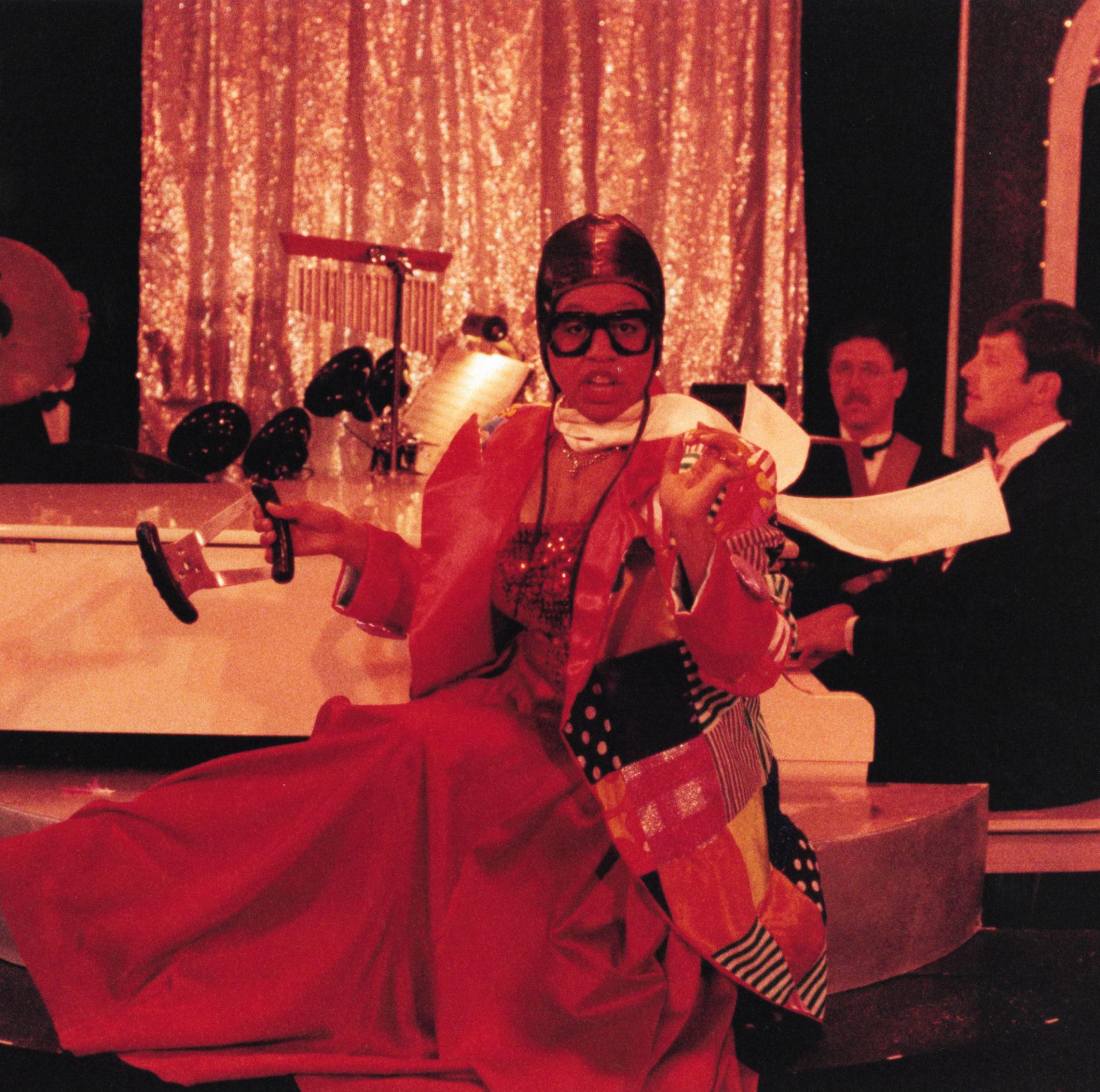 Anita performing in Jersey Girls.