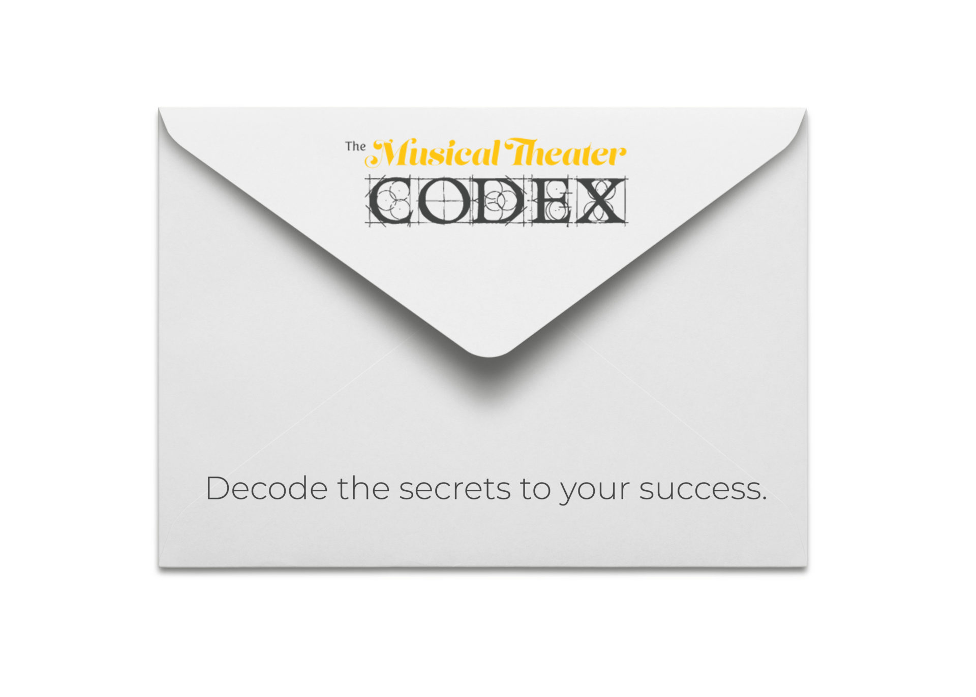Musical Theater Codex Mailing List Envelope